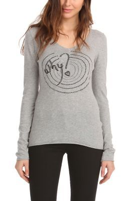 WOMAN PULLOVER LONG SLEEVE