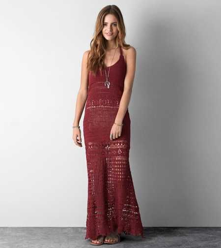 Ae corset maxi dress