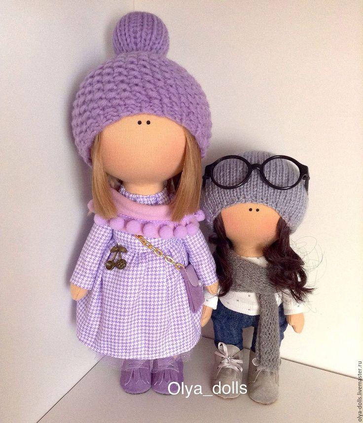 Купить Интерьерная куколка - комбинированный, кукла ручной работы, кукла, кукла…
