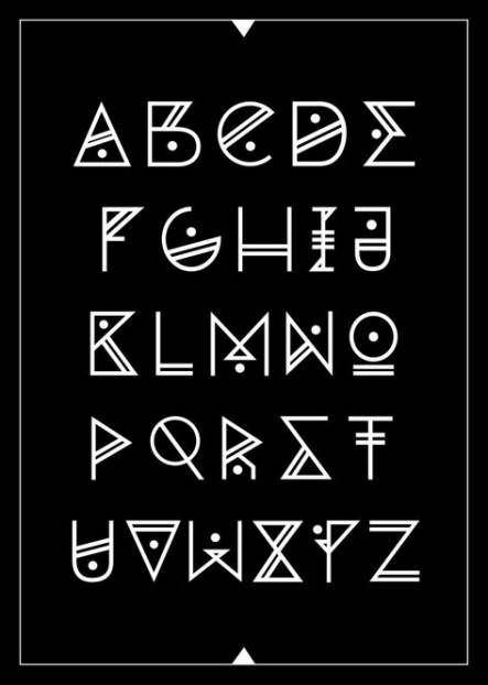 Fontes de tatuagem alfabeto desenhar 50+ idéias   – Journaling & Letters