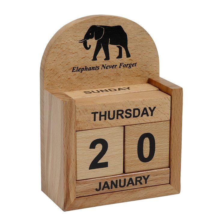 Elephant Calendar