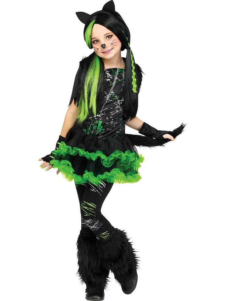 girls kool kat costume wholesale cats costumes for girls - Cat Costume Ideas Halloween