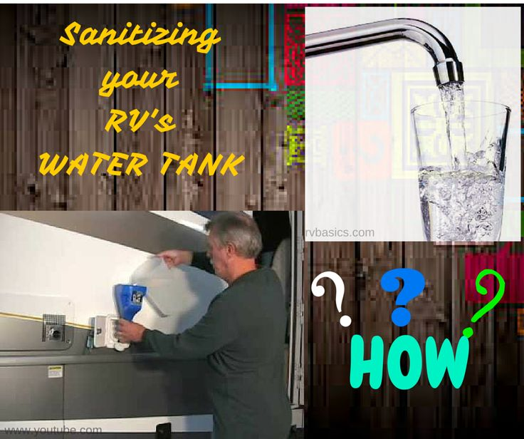 Sanitation of your RV insures everyone on board a clean and healthy environment, specifically when it comes to your drinking water, which should not only be clean, but safe for drinking too. So, when should you sanitize your RV? Sanitizing your RV should be done during storage and while on the road. During storage: If