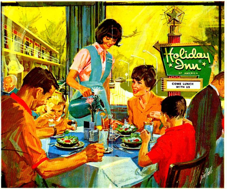 We often stayed at Holiday Inn on our family vacations... brings back some memories.
