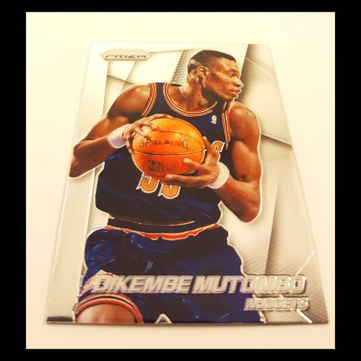 Dikembe Mutombo Basketball Card (2013-14 Prizm)