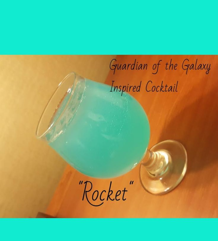 """This is a sponsored post ingredients for this cocktail was provided by Drizly. Inspired by the upcoming movie release of""""Guardian of the Galaxy"""" I've blended up a refreshing…"""