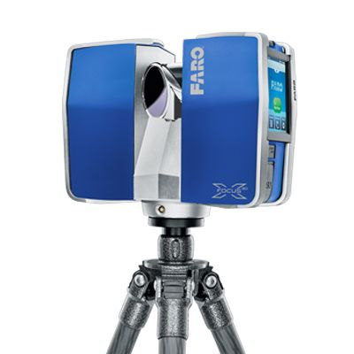 Laser Scanner FARO Focus3D - 3D Surveying - Overview