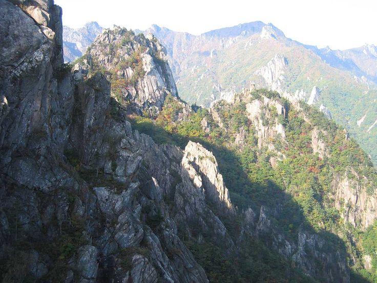 Lugares Fantásticos: Parque Nacional Seoraksan - Coréia do Sul