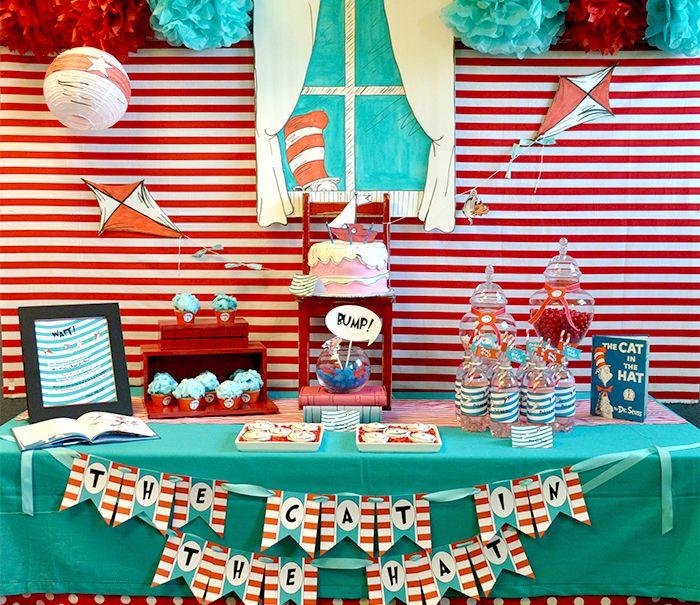 Dr. Seuss classroom party turned surprise party for teacher