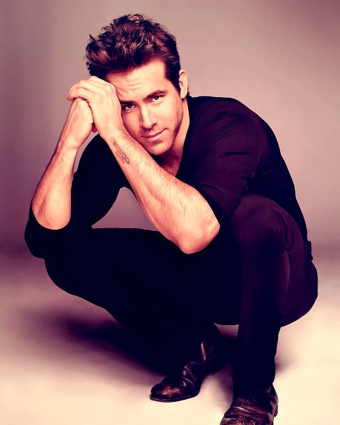 Ryan Reynolds - who wouldn't want to be in the presence of this perfect creature??