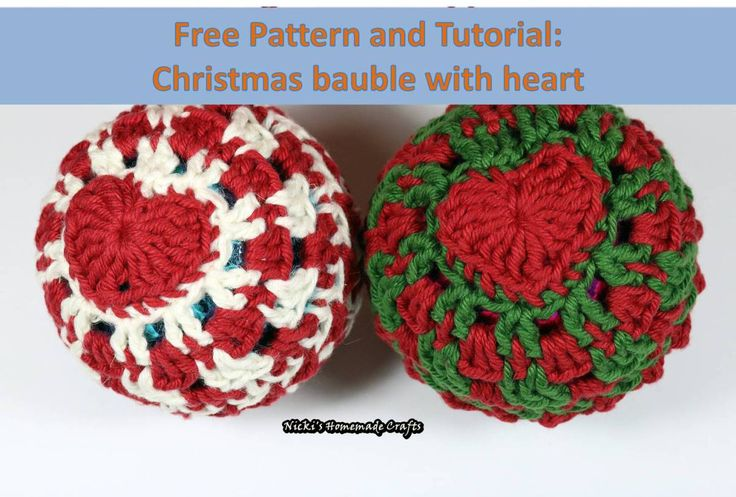 Free Crochet Pattern Christmas Bauble : 625 best images about Christmas things to make on ...