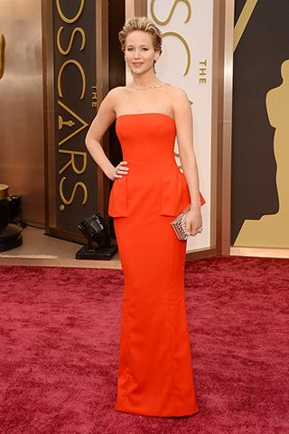 Jennifer Lawrence in Dior Haute Couture  @ 2014 Oscar Red Carpet