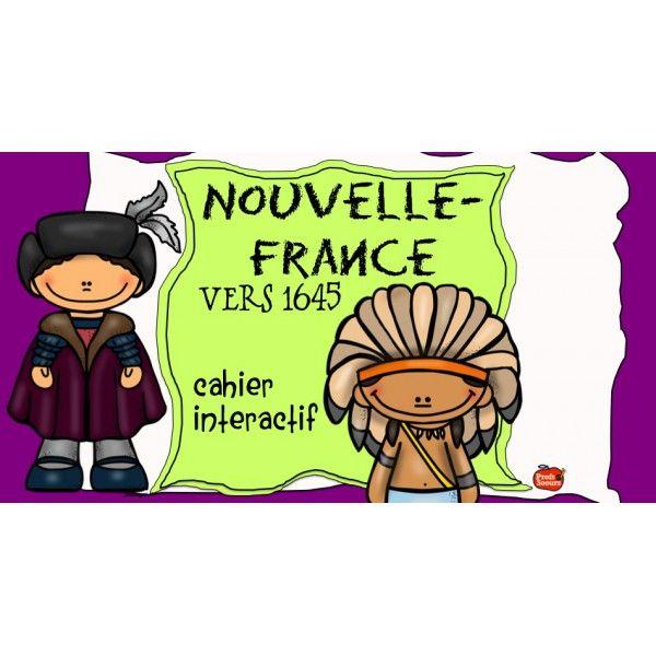 !La Nouvelle-France vers 1645