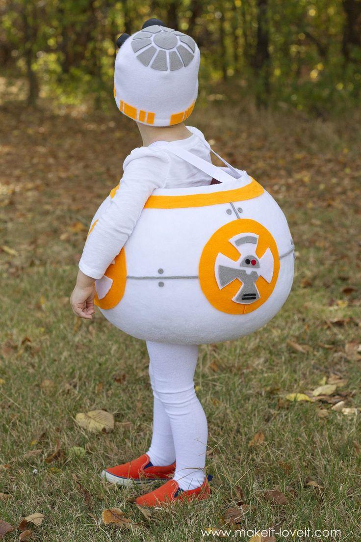 "How to make a ""BB8"" STAR WARS Costume!   via www.makeit-loveit.com"