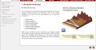 MilagroTIC: C. MEDIO 6º- CLIMAS Y PAISAJES DE EUROPA - TEMA 10 - 6º - (Parte II)