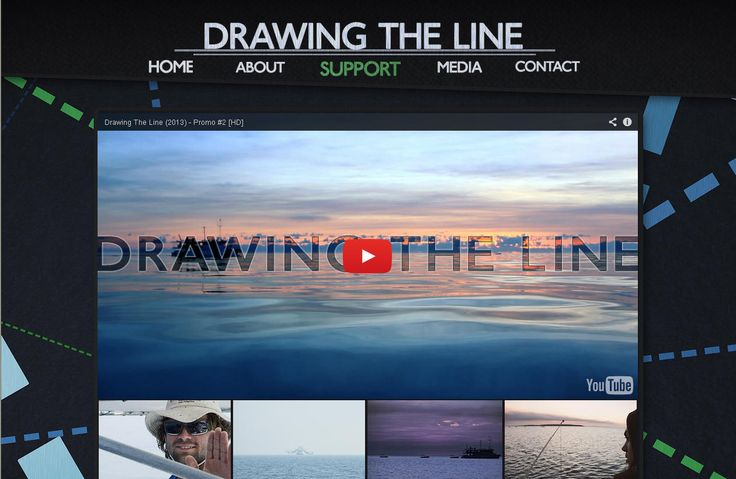 Promotion Encouragement Award Award Sponsor: Northern Territory Seafood Council Winner: The Drawing the Line film crew; Bruce 'Wildcard' Davey, Aleano Gloor, Matt Blyth