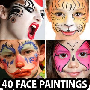 Face painting is a great entertainment for both children and adults. One doesn't have to be a professional artist to start off face painting as a career. It's lot more fun to do face paint