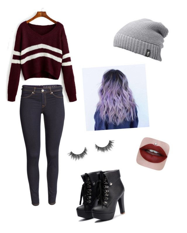 """""""Date with ethan💕"""" by ophelierose on Polyvore featuring mode, H&M et The North Face"""