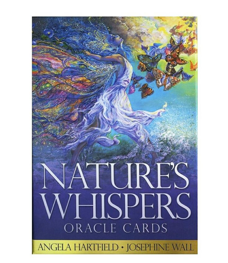 Natures whispers oracle cards oracle cards josephine wall
