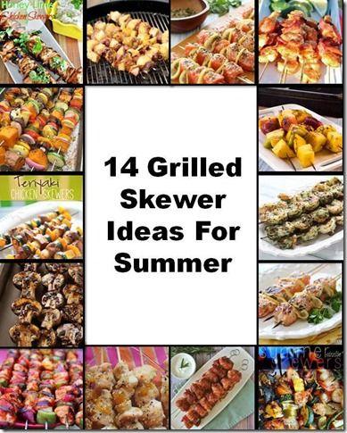 Grilled Skewer Ideas For Summer