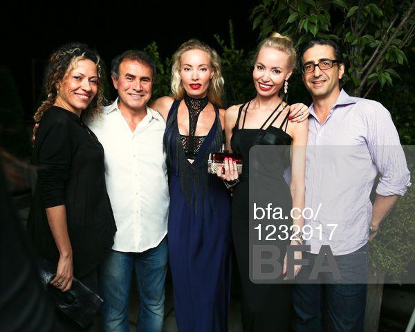 Claudia Ochoa, Nouriel Roubini, Mia Fahler, Eva Fahler, Richard Paone at NOURIEL ROUBINI Hosts a Birthday Party for EVA & MIA FAHLER. #BFAnyc