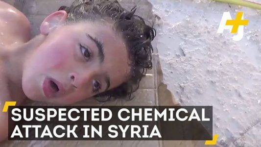 These children cant breathe. This is the aftermath of a suspected chemical attack in Syri #news #alternativenews