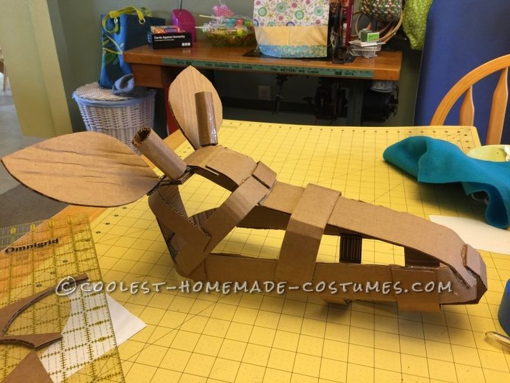 This could provide a good structure for the giraffe head