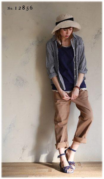 【楽天市場】パンツ M/L/LL/3Lサイズ ゆったりラフに着て、女性らしく華奢に見せる。ツイルカーゴパンツレディース/ボトムス/コットン混/綿混/ロング/ストレッチ/ストレートsoulberryオリジナル:soulberry