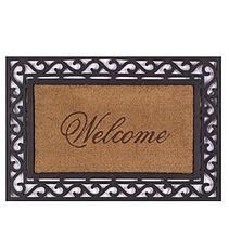 Framed Welcome Door Mat