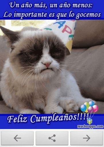 """Felicitaciones de cumpleaños es una aplicación que te permitirá mandar tarjetas de cumpleaños a todos tus amigos y familiares. Hemos preparado una completa colección de invitaciones de cumpleaños, ya que encontrarás felicitaciones clásicas, tiernas para tu novio o novia y sobre todo, muchas imágenes de lo más divertidas y graciosas para felicitar a tus seres queridos.- Para tus familiares: Si lo que quieres es decir """"Feliz Cumpleaños"""" en español a cualquier familiar (hijos, padres, ..."""