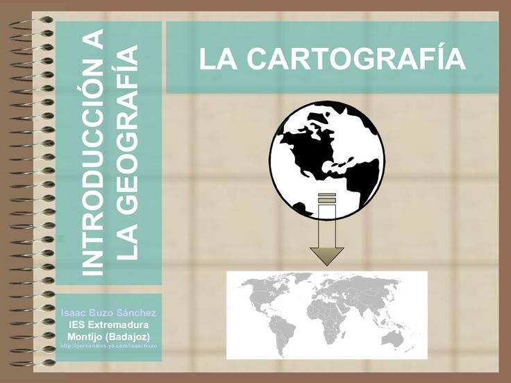 la-cartografia by Isaac Buzo via Slideshare