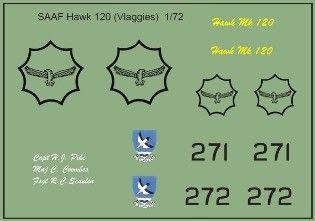 SAAF Hawk 120 (Vlaggies) 1/72