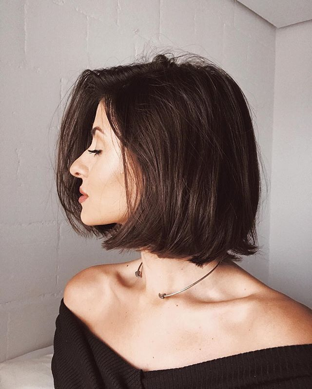 Pin By Mikkaila Deluca On Hair Thick Hair Styles Bob Hairstyles For Thick Hair Styles