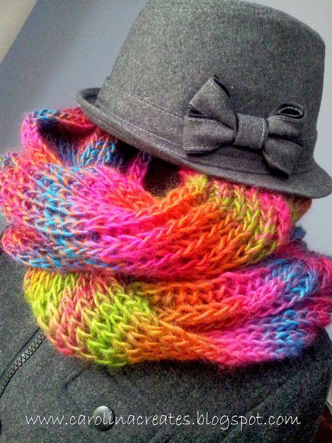 Carolina Creates - Himalaya Padisah neck warmer (matching set)