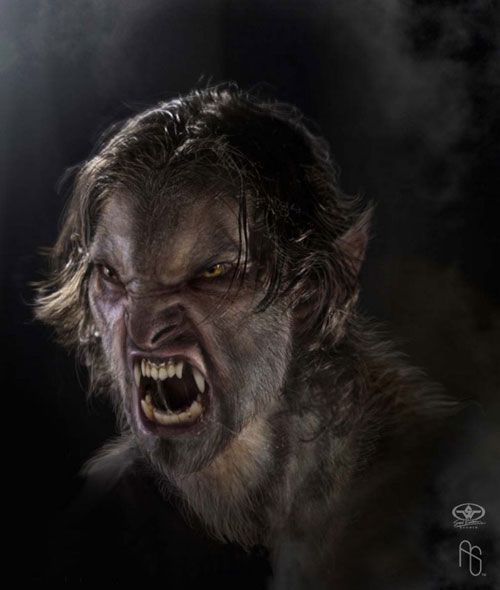 Werewolf 1 by Aaron Sims - Character and production design