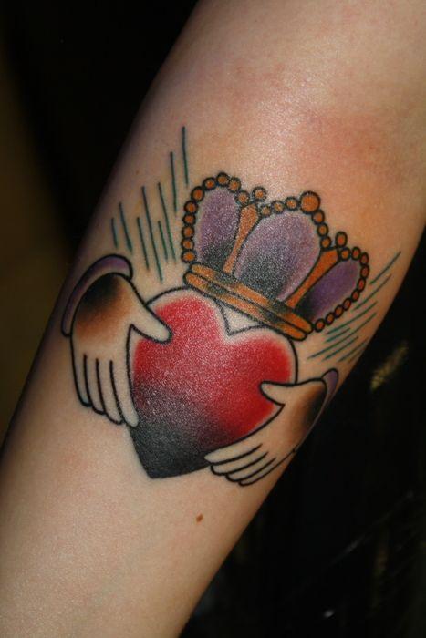 claddagh ring tattoo - photo #35