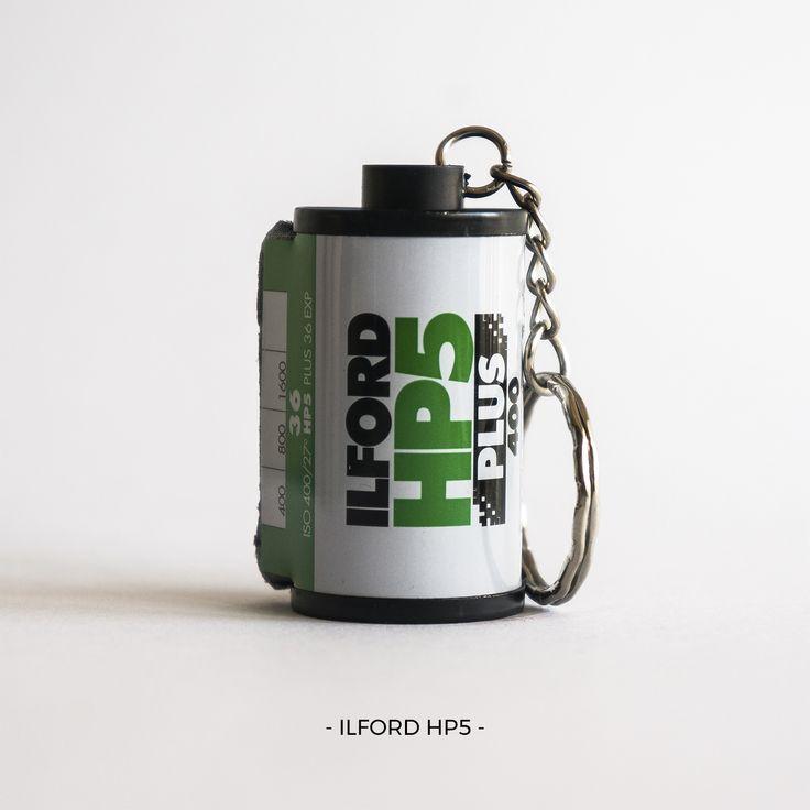 Ilford HP5 | 35mm film photography | keychain