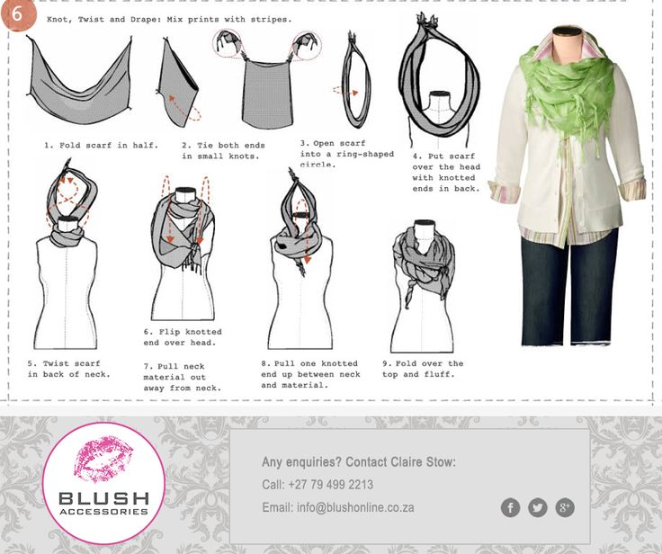 Be a crowd-stopper in your gorgeous #Blush scarf with this stunning drape style. Try it this weekend and make your valentine's jaw drop! #accessories #valentinesday