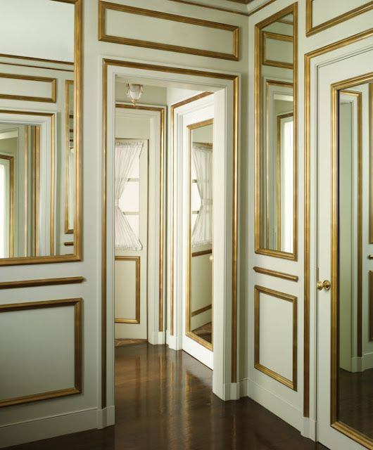 Remarkable 17 Best Ideas About Gold Trim Walls On Pinterest Panelling Wall Largest Home Design Picture Inspirations Pitcheantrous
