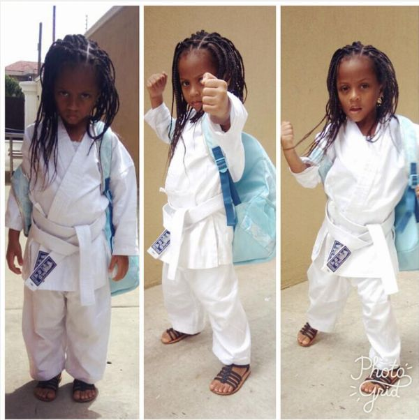 'Lemme Start Training Her for Woman Beaters' _ Peter Okoye Enrols Cute Daughter in Taekwondo Class (Photos) -  Click link to view & comment:  http://www.naijavideonet.com/lemme-start-training-her-for-woman-beaters-_-peter-okoye-enrols-cute-daughter-in-taekwondo-class-photos/