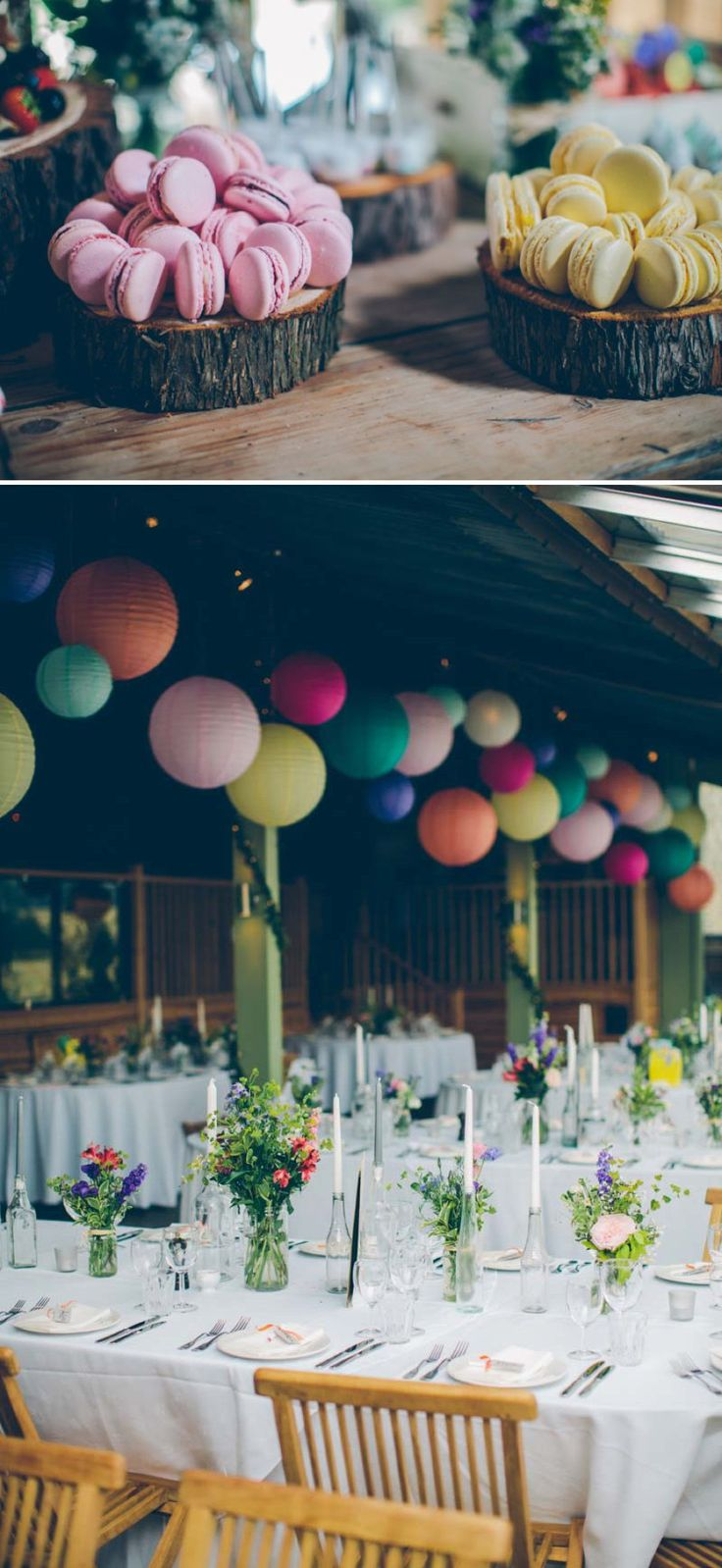 Colourful Contemporary Wedding At Cripps Stone Barn In The Cotswolds With Bride In Charlie Brear Gown And Gold Jimmy Choo Peeptoes And Groom In Bespoke Suit By Marc Wallace With Groomsmen In Bowties 6 Candy Coloured Love.