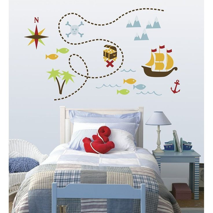 Pirates Kids Wall Decal: Pirate Wall Decals