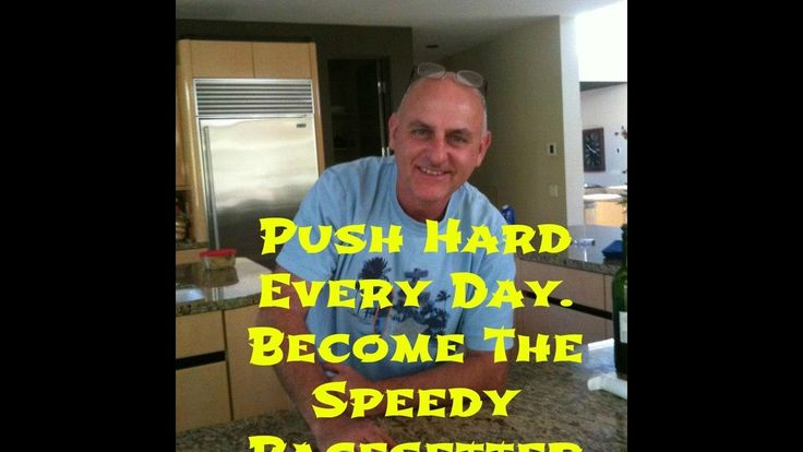 Push hard every day. Become a speedy pacesetter.