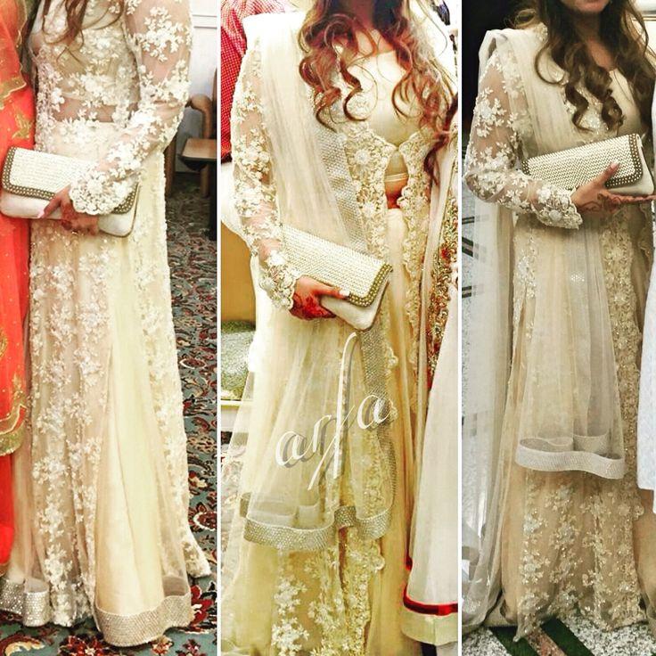 Clients by @rashidamoon custom made for wedding wear