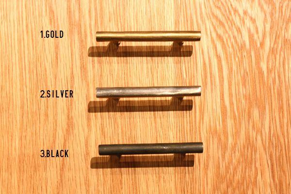 Bar Pull 真鍮製ハンドル 家具用取っ手 Tk 002 ・種類:取っ手(キャビネット、引き出し用