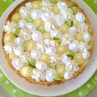 As salam aleikounna, Bonjour Aujourd'hui je vous propose une tarte qui me trottait dans la tête depuis que j'en a vu deux magnifiques ici. Ce sont les Fantastiks de C. Michalak J'ai vraiment...