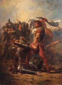 Pier Gerlofs Donia, Grote Pier (Frysk: Grutte Pier, in de spelling voor 1980 Greate Pier), (Kimswerd, ca. 1480 - Sneek, 28 oktober 1520), was een Friese krijgsheer, vrijheidsstrijder en volksheld.
