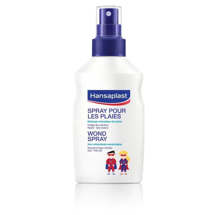 Hansaplast Spray Enfant Antiseptique 100ml Gel Hydroalcoolique