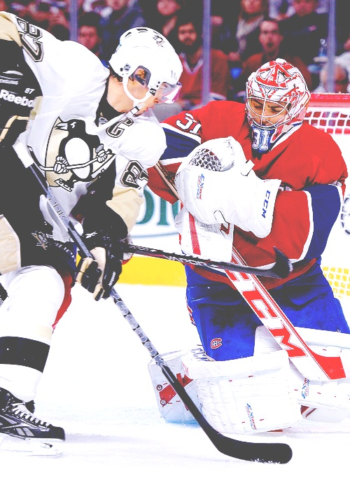 Sidney Crosby and Carey Price