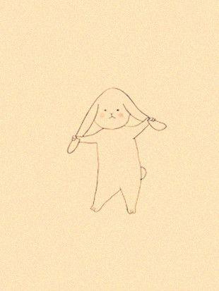 兔酱,你何苦跟自己的耳朵过不去呀。 【阿团丸子】